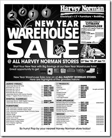 Harvey-norman-new-year-warehouse-sale
