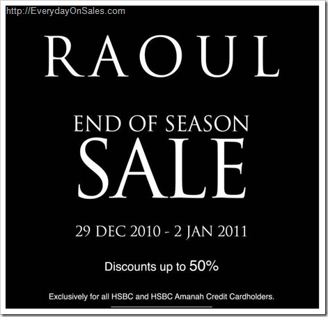 Raoul-End-Season-Sale