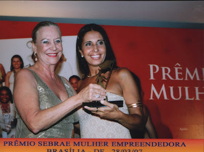 Monica Burich  e Beatriz Fett presidente da BPW - Historias de Sucesso, SEBRAE