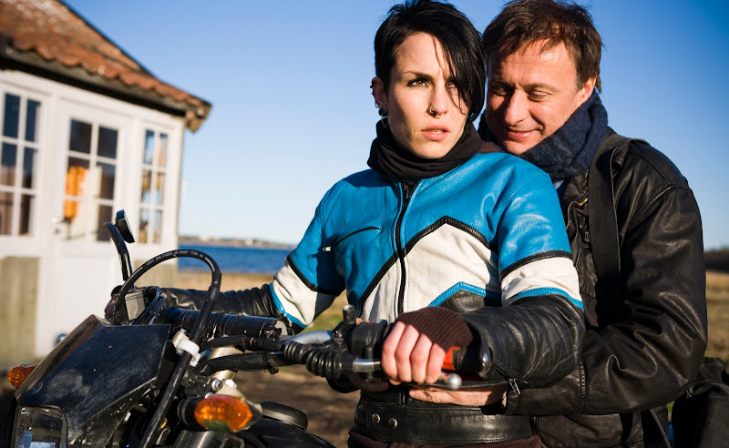Lisbeth Salander (Noomi Rapace) and Mikael Blomkvist (Michael Nyqvist) in The Girl with the Dragon Tattoo