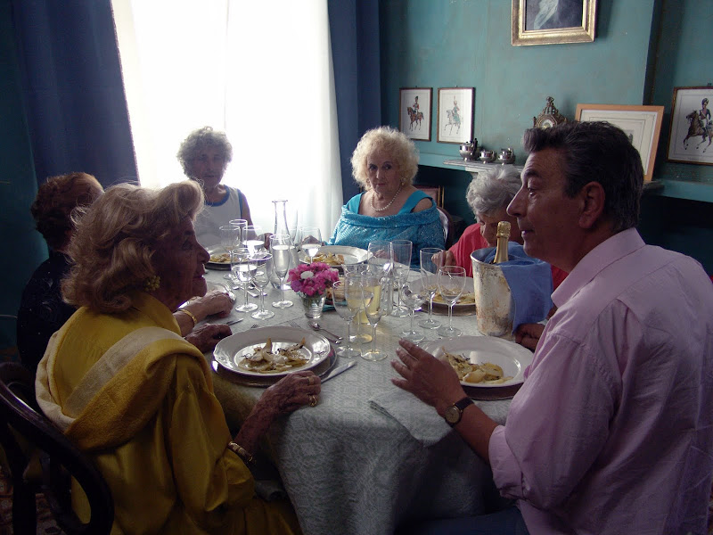 A scene from MID-AUGUST LUNCH. A film by Gianni Di Gregorio.