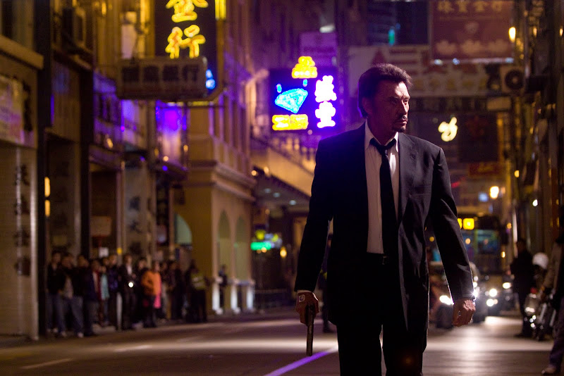 A scene from Johnnie To's VENGEANCE