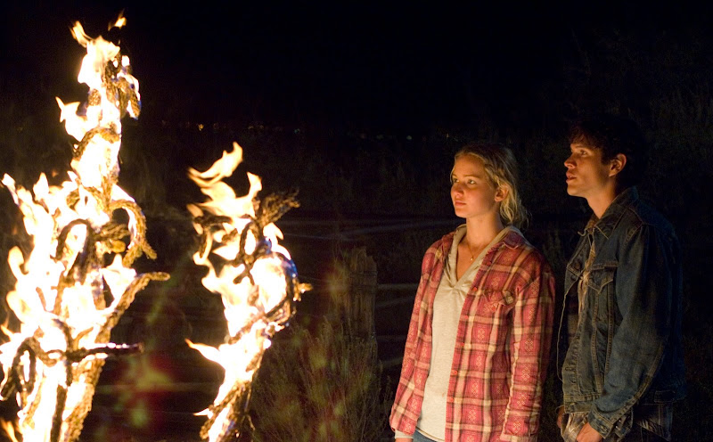 Jennifer Lawrence and J.D. Padro in THE BURNING PLAIN. Photo courtesy of Magnolia Pictures