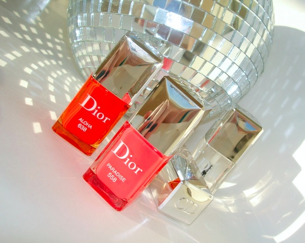 Dior Catwalk Duo Vernis Fluorescent & Top Coat Glossy #638 ...