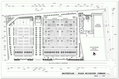 Masterplan - Pasar Mojoagung Jombang