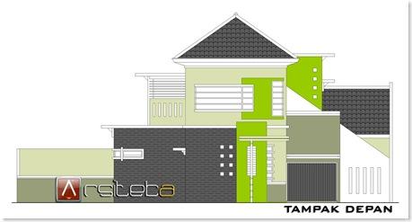 Villa Puncak Tidar T.115 (315m2) - Tampak