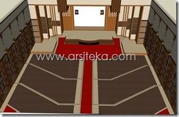 3D Modeling Perencanaan3 - Arsiteka (Ruang Sidang Paripurna DPRD Kabupaten Malang)