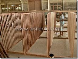 Proses2 produksi partisi VEDC - Arsiteka (Ruang Sidang Paripurna DPRD Kabupaten Malang)