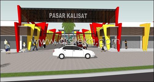 Pasar Kalisat_13 (2009.05.23) - gerbang