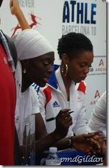 Myriam Soumaré, 100m BRONZE