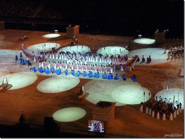 Représentation Aida, Stade de France, Octobre 2010