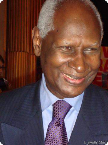 Abdou Diouf, 40 ans de O.I.F, Paris Mars 2010