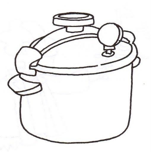 Dibujos de ollas para colorear e imprimir  Imagui