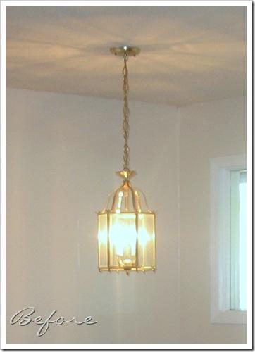 brassy light
