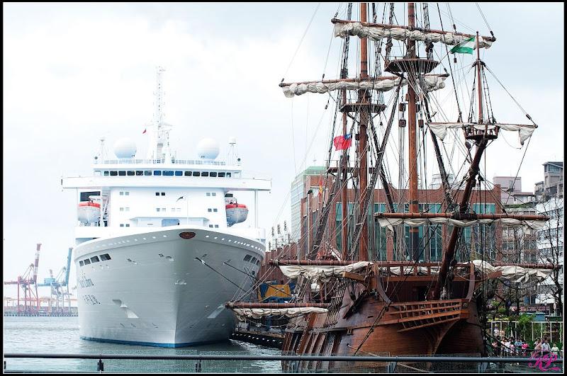 西班牙古代戰船_安達魯西亞號@基隆港