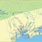 Карта Великой Скифии времен Геродота