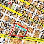Место вероятного расположения Новогригорьевской крепости на современной карте г. Николаева