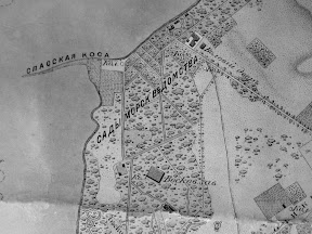 Воловий двор на старой карте Николаева