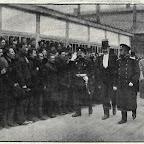 Император Николай ІІ при посещении судостроительного завода в Николаеве