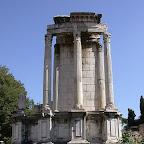 Храм Весты. Руины храма на Римском Форуме