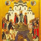 Икона Крещение Руси. 1988 г.