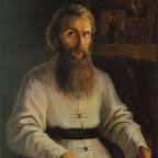 Портрет о. Зинона. Худ. М. Вишняк