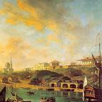 Вид города Николаева 1799 г.