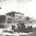 Магистратская площадь  в Николаеве 1799 г.