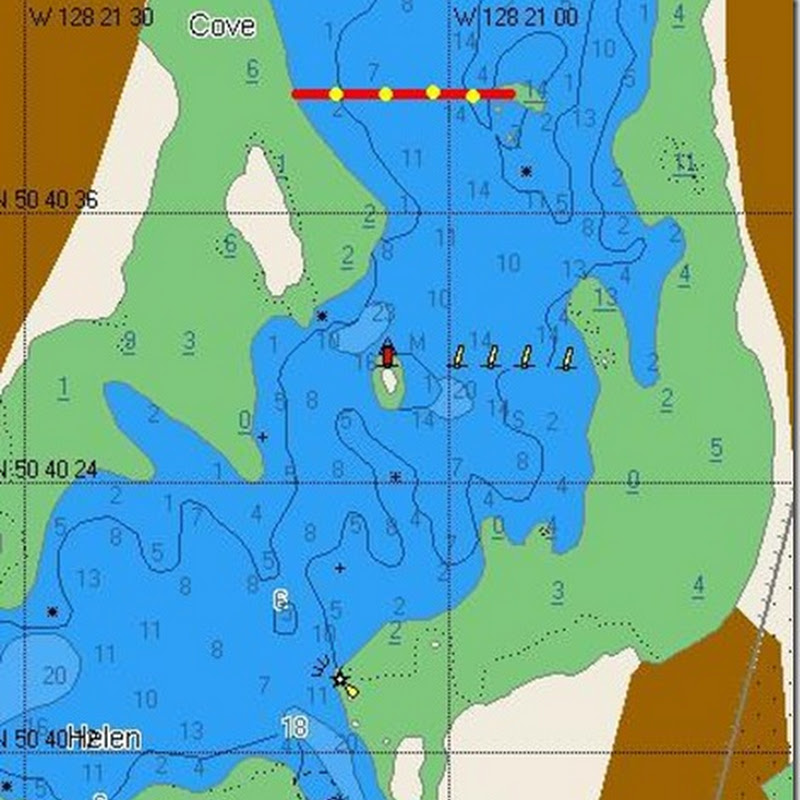CMAP chart correction – Sea Otter Cove