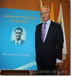 Blas Camacho, autor del libro