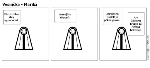 Komiks Vesnička - Sexy Marika