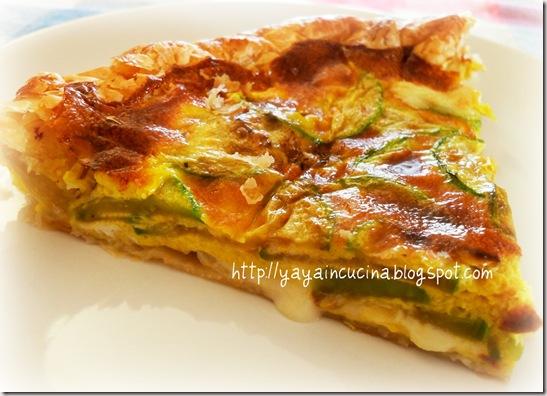 Torta salata alle Zucchine 026