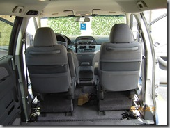 2007 Honda Odyssey interior