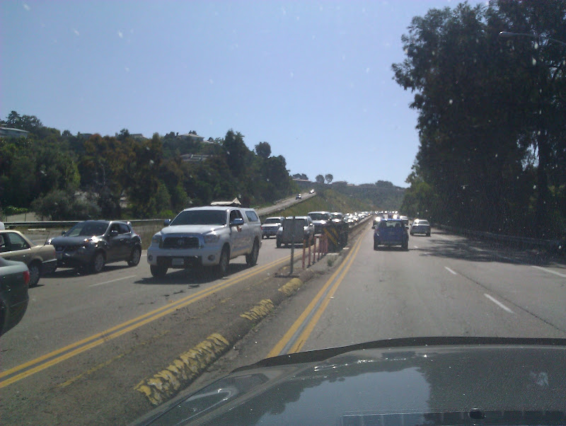 La Jolla Shores Summer Traffic