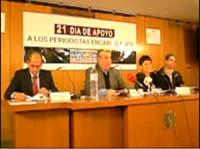 Malén Aznárez, Miguel Galbán, Ricárdo González y Fabio Prieto