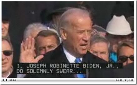 Jim Biden Oath