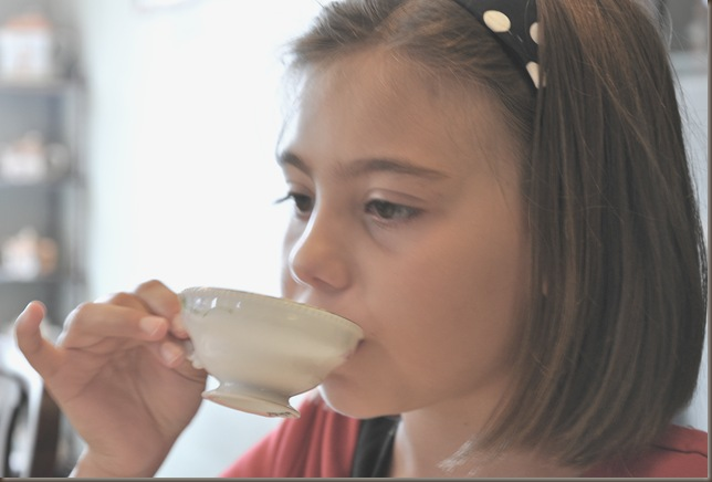 sienna sipping