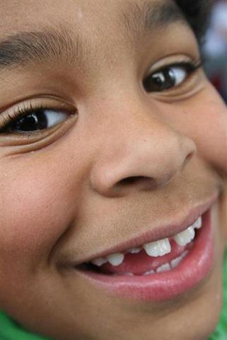 kaishon's smile