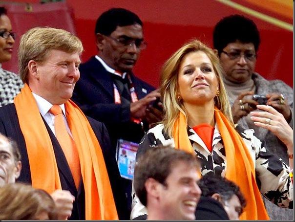 Willem Alexander e a princesa Maxima (1)