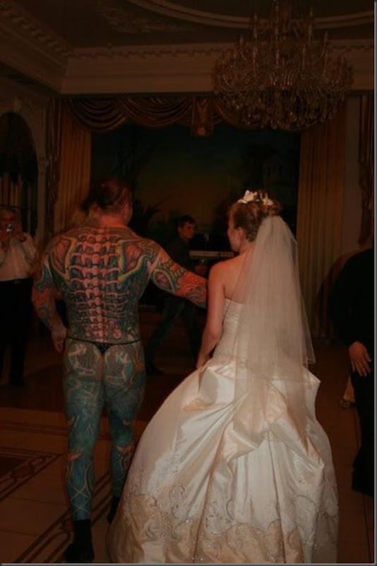 Fotos do caaamento do mostro russo (1)