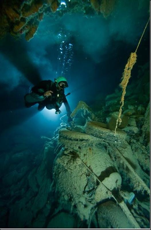 Lindas imagens de cavernas nas Bahamas (19)