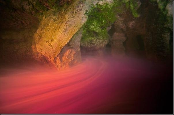 Lindas imagens de cavernas nas Bahamas (1)