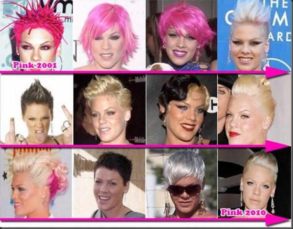 Mudança no estilo de cabelo dos famosos (1)