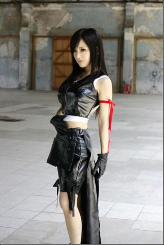 Os melhores cosplays de Tifa Lockheart de Final Fantasy VII (20)