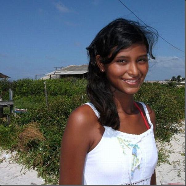 Elisany Silva, a adolescente mais alta do mundo