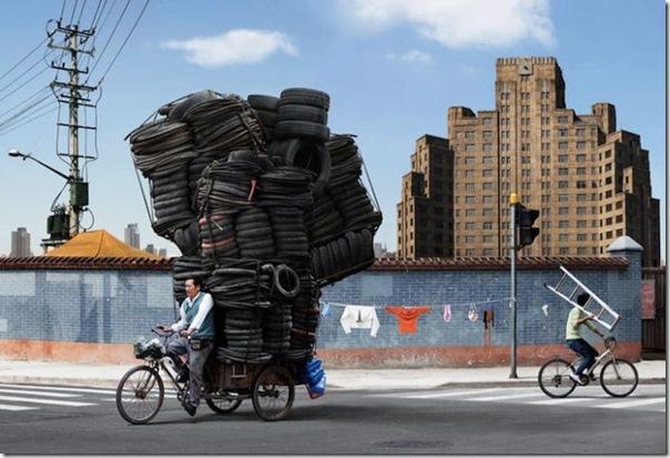 Pra que um caminhão se eu tenho uma bicicleta