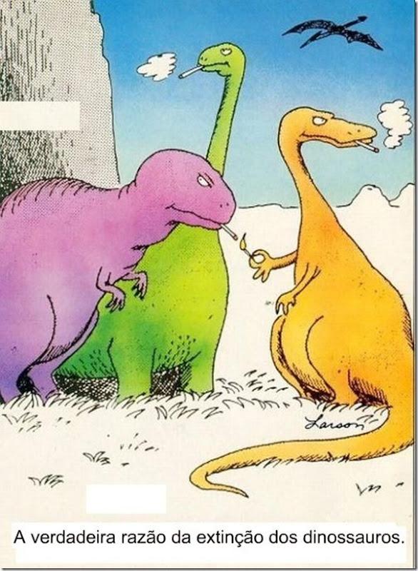 dinossauros extinção