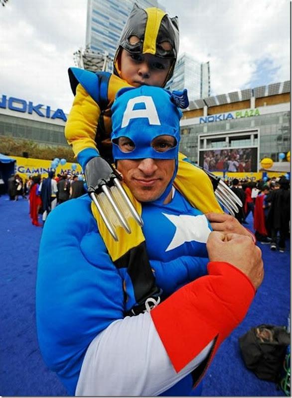 Maior reunião de super-heróis (3)