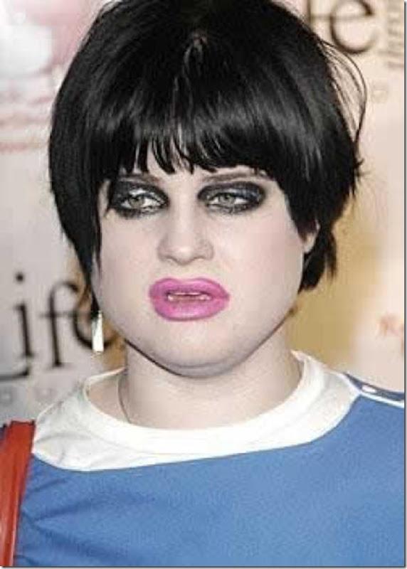 Kelly Osbourne antes e depois