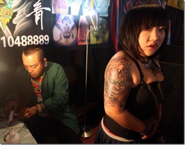Festival Internacional de Tatuagem em Pequim (9)